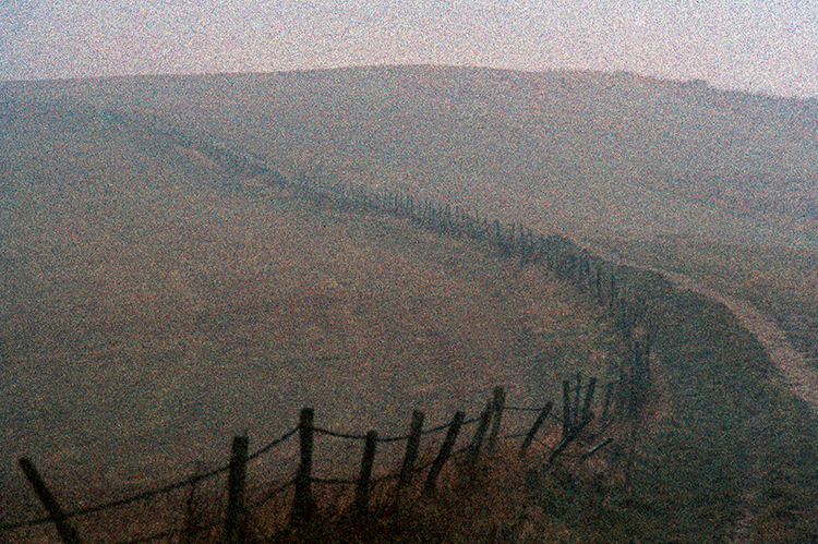 Morning mist on Ditchling Beacon